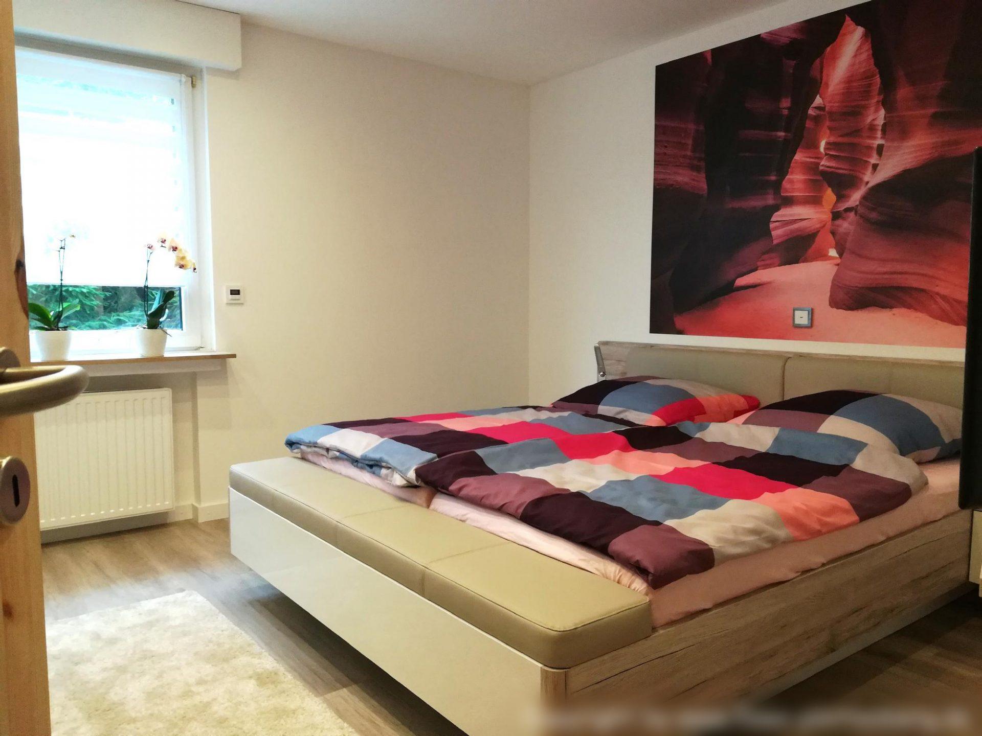 Schlafzimmer 1 - Fewo-Plettenberg